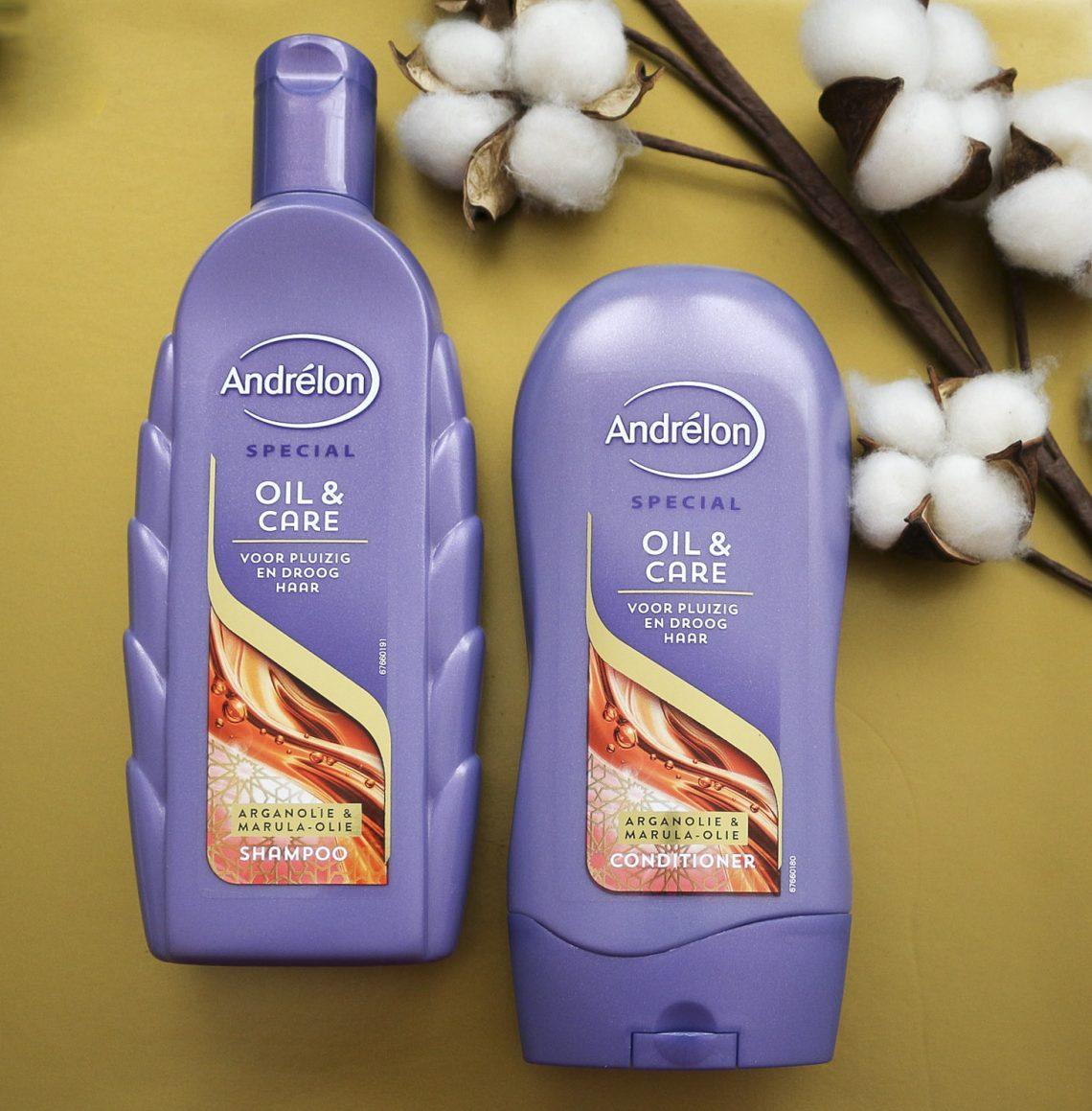 Andrelon Oil Care Shampoo And Conditioner Miss Prettiness